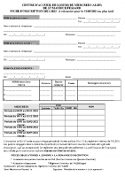 Fiche inscription ALSH 2021-2022